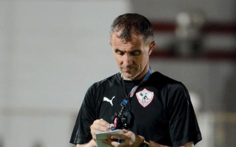 Former Zamalek coach Milutin 'Micho' Sredojević. Picture: @ZSCOfficial/Twitter.