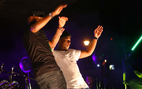 FILE: House music duo Black Motion during a performance. Picture: Bertram Malgas/EWN