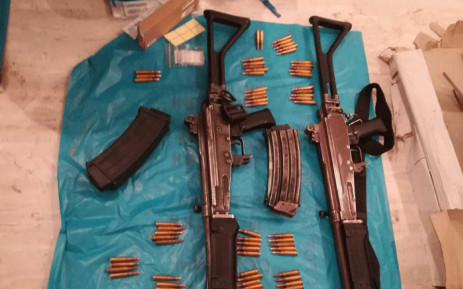 Police seized three weapons during a house raid in Khayelitsha on 12 September 2018. Picture: Supplied