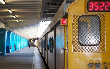 FILE: A Metrorail train. Picture: EWN.