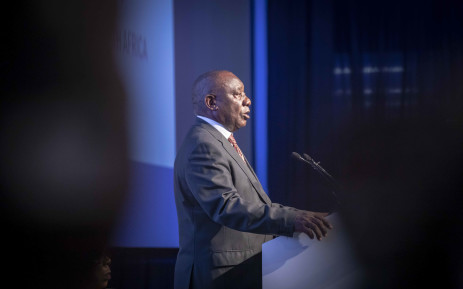 President Cyril Ramaphosa makes his acceptance speech at the IEC Results Operations Centre in Tshwane on 11 May 2019. Picture: Thomas Holder/EWN