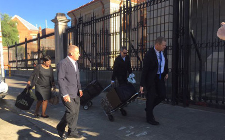 State advocate Gerrie Nel arrives at the Supreme Court of Appeal in Bloemfontein on 3 November 2015. Picture: Gia Nicolaides/EWN.