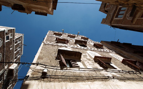 The building that US photojournalist Luke Somers, killed during a failed attempt by US special forces to free him from Al-Qaeda militants, lived in is seen in the the old city of Sanaa 7 December, 2014. Picture: AFP.