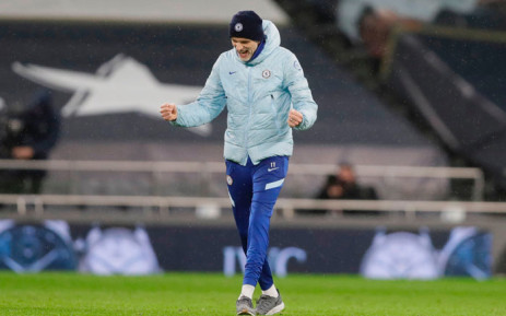 Chelsea manager Thomas Tuchel celebrates his side's English Premier League victory over Tottenham Hotspur on 4 February 2021. Picture: @ChelseaFC/Twitter