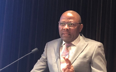 President of the South African Policing Union Mpho Kwinika. Picture: @ICPRA/Twitter