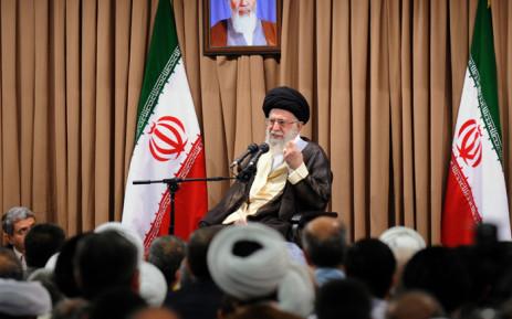 Iran's supreme leader, Ayatollah Ali Khamenei. Picture: AFP.