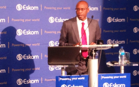 Eskom chief executive officer briefs the media on load shedding on 8 December 2014. Picture: Reinart Toerien/EWN.