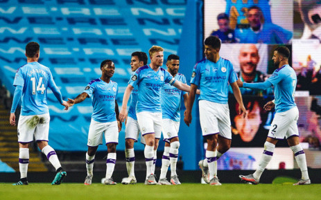 FILE: Manchester City beat new champions Liverpool 4-0 in their Premier League match on 2 July 2020 at the Etihad stadium. Picture: @ManCity?Twitter.