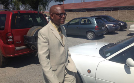 FILE: Richard Mdluli at the Boksburg Magistrates Court. Picture: Barry Bateman/EWN.