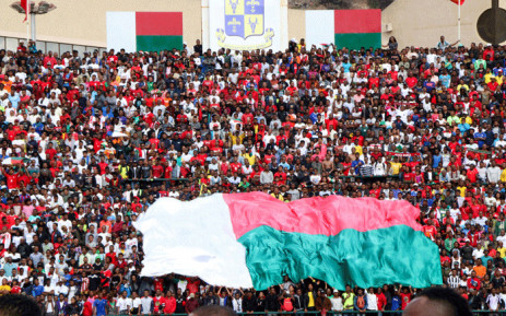 Malagasy supporters cheer during the Africa Cup of Nations 2019 qualifier Madagascar v Senegal on 9 September 2018 in Antananarivo, Madagascar. Picture: AFP
