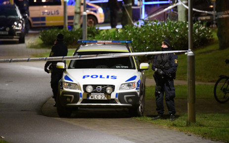 FILE: Police have cordoned off an area after an object exploded next to a police station in Rosengard in Malmo, Sweden on 17 January 2018. Picture: AFP