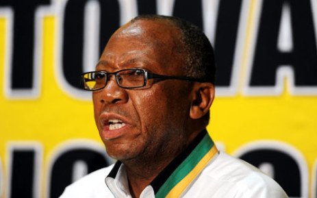 Deputy Defence Minister Kebby Maphatsoe accused the Public protector of being a CIA spy. Picture: Werner Beukes/SAPA