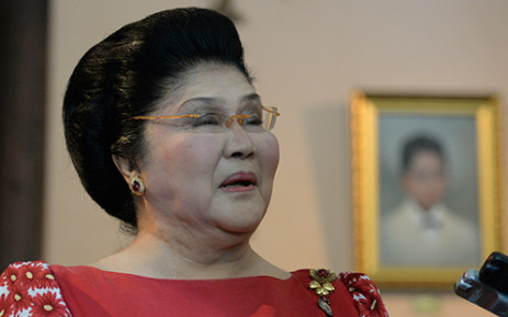 FILE: Former Philippine first lady Imelda Marcos. Picture: AFP