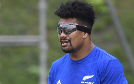New Zealand's flanker Ardie Savea takes part in a captain's run training session in Beppu on 1 October 2019, on the eve of their Japan 2019 Rugby World Cup Pool B match against Canada. Picture: AFP