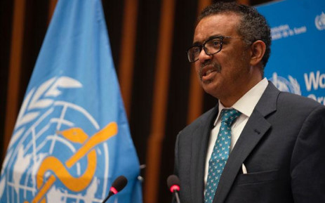 World Health Organisation Director-General Tedros Adhanom Ghebreyesus Picture: @WHO/Twitter