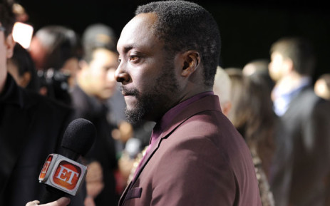 FILE: will.i.am attends the will.i.am hosted third annual TRANS4M concert benefitting the i.am.angel Foundation at Avalon on 23 January 2014 in Hollywood, California. Picture: AFP/ Allen Berezovsky/Getty Images for i.am.angel Foundation