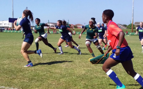 The Springbok Women take on their Scottish opponents in the second Test on 5 October 2019 at City Park Stadium in Cape Town. Picture: @WomenBoks/Twitter