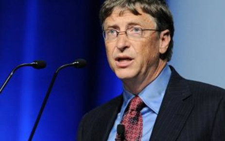 Microsoft Chairman and Co-Chair of Bill & Melinda Gates Foundation, Bill Gates. Picture: AFP.