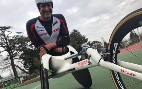 South Africa's Paralympian, wheelchair racing and para-cycling champion Ernst van Dyk. Picture: Ernst van Dyk/Facebook.