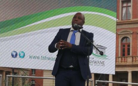 Tshwane Mayor Stevens Mokgalapa. Picture: @CityTshwane/Twitter