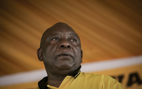 President Cyril Ramaphosa addressing the ANCYL during the league's celebration of Peter Mokaba. Picture: Sethembiso Zulu/EWN