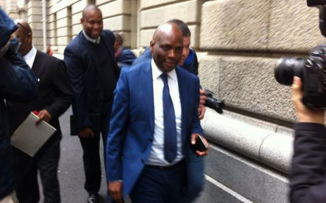 FILE: Hlaudi Motsoeneng leaving the Western Cape High Court. Picture: Siyabonga Sesant/EWN