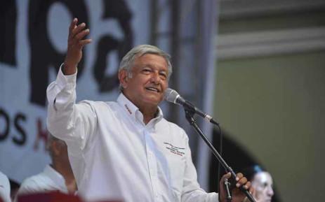 FILE: Mexican President-elect Andres Manuel Lopez Obrador. @lopezobrador.org.mx/Facebook