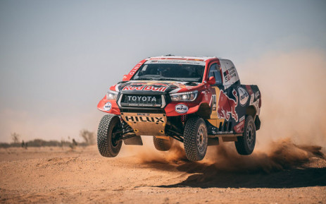 A competitor during stage  9 of the 2020 Dakar Rally on 14 January 2020. Picture: @dakar/Twitter