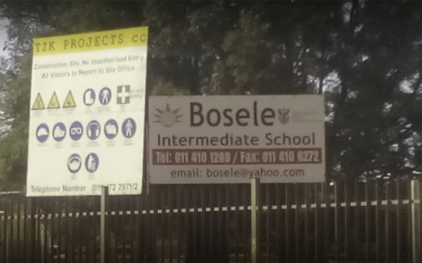 Bosele Intermediate School in the West Rand. Picture: Google maps.