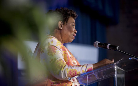 FILE: Minister of Basic Education Angie Motshekga addresses Gauteng's top achieving matriculants of 2016 at a school in Daveyton on 5 January 2017. Picture: Reinart Toerien/EWN