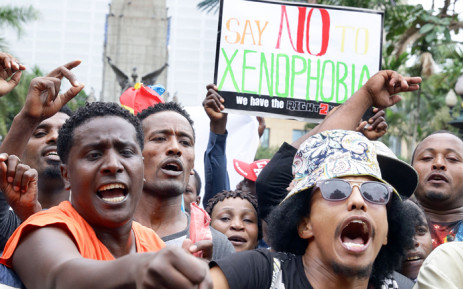 At a time of high tensions in South Africa, images have been surfacing that have nothing to do with the current xenophobic violence plaguing several cities. Picture: AFP.