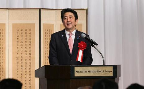FILE: Japanese Prime Minister Shinzo Abe. Picture: @AbeShinzo.