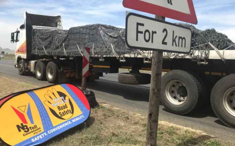 The N3 Toll Concession, working with other organisations and law enforcement officers, has set up a wellness station near Mooi River Plaza. Picture: Thando Kubheka/EWN.