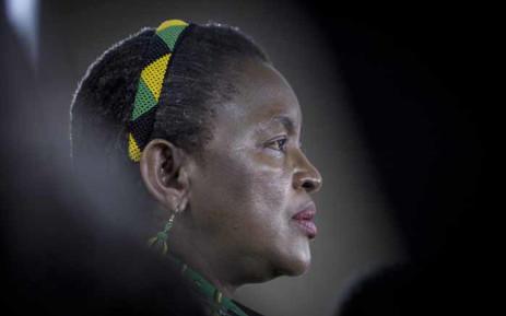 FILE: Former Minister of Social Development Bathabile Dlamini. Picture: Thomas Holder/EWN