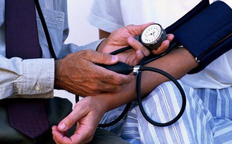 Blood pressure measurement. Picture: EWN.