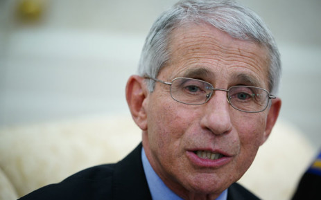 FILE: In his Atlantic interview, Fauci recommended the country hit a reset button and acknowledge that things are not going in the right direction. Picture:AFP