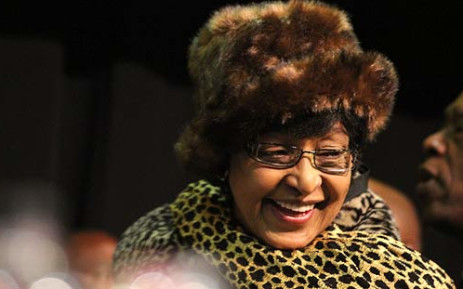 Winnie Madikizela-Mandela on the first day of the party's policy conference in Midrand on 26 June 2012. Picture: Taurai Maduna/EWN
