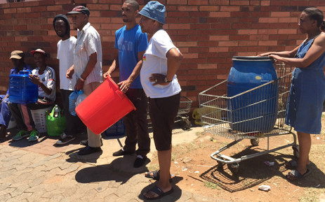 FILE: The provincial government, Rand Water and various stakeholders have embarked on a mass campaign to educate the public about the severity of the situation. Picture: Vumani Mkhize/EWN.