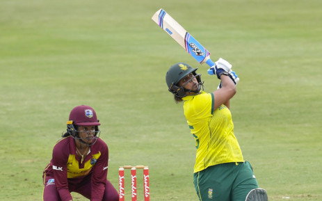 Chloe Tryon in action for the Proteas women's side. Picture: @OfficialCSA/Twitter