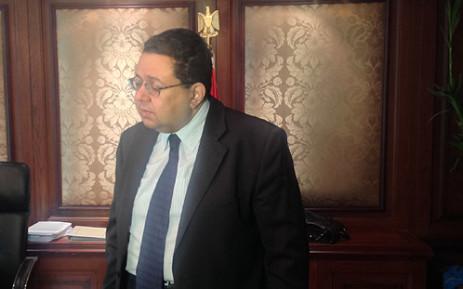 Egypt's Deputy Prime Minister Ziad Bahaa-Eldin. Picture: Sheldon Morais/EWN.