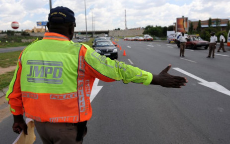 FILE: JMPD roadblock. Picture: EWN