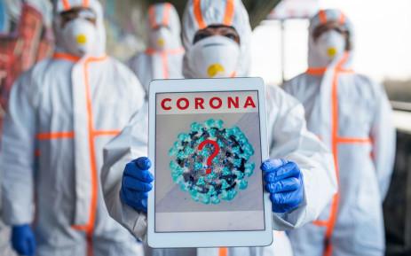 Coronavirus covid-19 hazmat suits 123rflocal 123rf