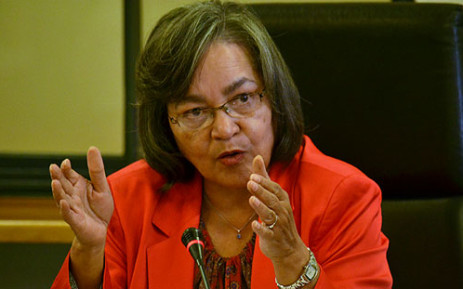 FILE. Patricia de Lille has come out out guns blazing by strongly condemning violent protests in Macassar and Philippi. Picture: EWN