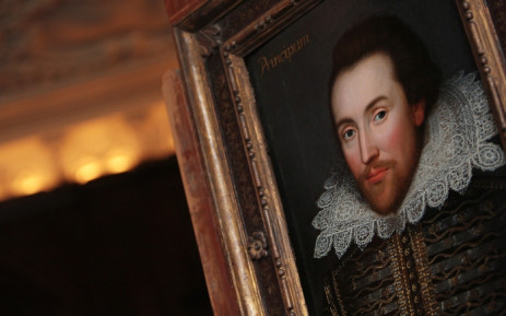 FILE: A portrait of William Shakespeare pictured in London in March 2009. Picture: AFP.