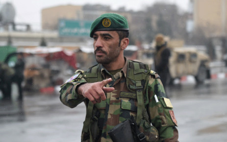 FILE: An Afghan security personnel. Picture: AFP.