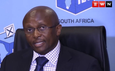 IEC Chief Electoral Officer Mosotho Moepya. Picture: EWN