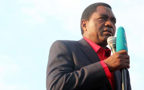 FILE: Hakainde Hichilema. Picture: AFP