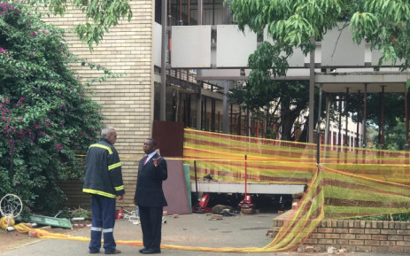 Lesufi devastated after school walkway collapse