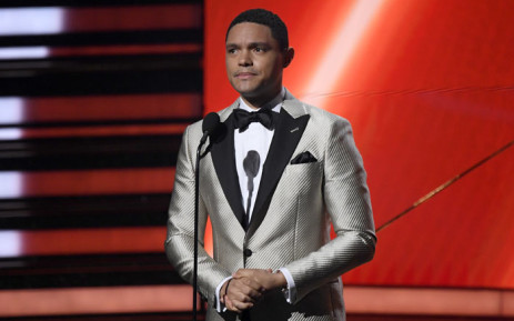 South African comedian Trevor Noah was set to host the 2021 show, and it wasn't immediately clear if that was still the plan. Picture: AFP