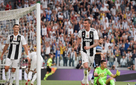 FILE: Cristiano Ronaldo (L) made his home debut for Juventus on 25 August 2018. Picture: @juventusfc/Twitter